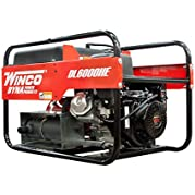 Winco DL6000HE Industrial DYNA Portable Generator, 6,000W Maximum, 258 lb.