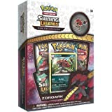 Pokemon TCG: Shining Legends Zoroark Collectible Pin Box of Cards