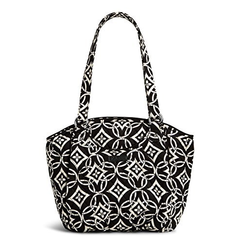 Vera Bradley Glenna Shoulder Bag Concerto with Black Piping