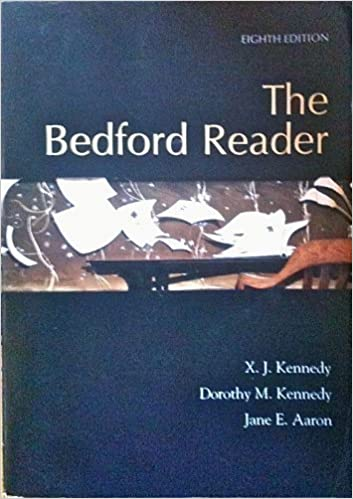 The Bedford Reader: X  J  Kennedy: 9780312399399: Amazon com