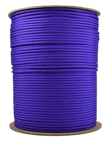 Acid PurpleMil-Spec Commercial Grade 550lb Type III Nylon Paracord - 1000 Foot Spool by Bored Paracord (Image #1)