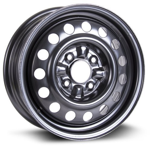 Volvo Steel Rims - Steel Rim 15X6, 4X114.3, 67.1, +45, black finish (MULTI APPLICATION FITMENT) X99103N