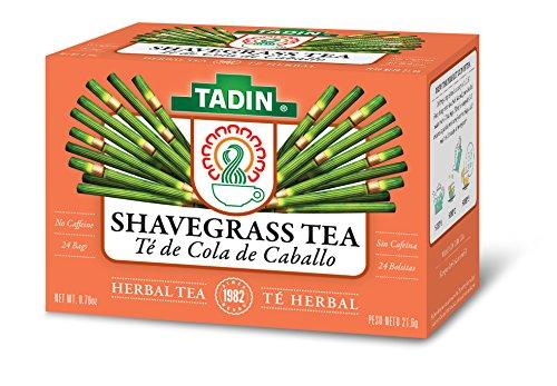 Tadin Herb & Tea Co. Shavegrass Herbal Tea, Caffeine Free, 24 Tea Bags, Pack of ()