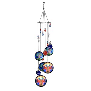 COTO Wind Chimes for Home Garden Decoration Tree of Life Wall Hanging Ornament Decor Wind Chime for Patio, Porch, Garden, or Backyard