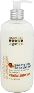 product image for Natureand 39 s Baby Organics Conditioner and Detangler (Vanilla/Tangerine) -16 oz. ( Multi-Pack)
