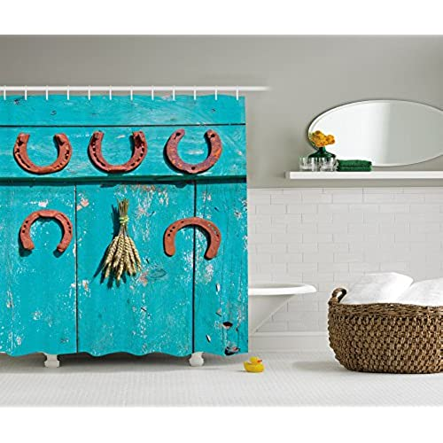 Turquoise brown bathroom accessories for Turquoise and brown bathroom decor