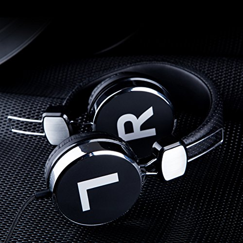 Cell phone headset Head-arch headphones Computer headset Single-hole with microphone headphones-D