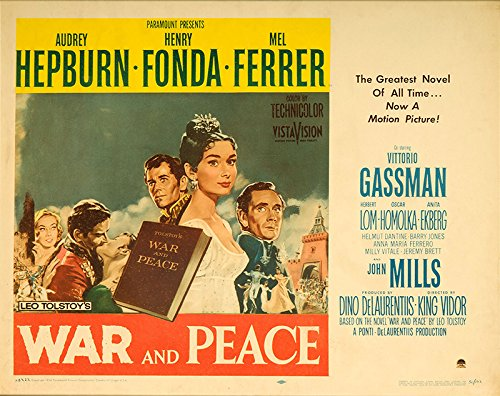 Image result for war and peace 1956 poster