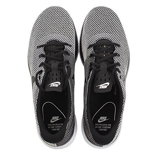Herren 004 Sneakers Racer Sneaker Weiß Schwarz Nike Schwarz Herren Tanjun 45fAq