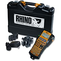 Dymo Corporation Handheld Label Printer,4 Lines,14-20/25x4-35/50x13,BK/YW SKU-PAS972773