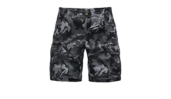 CHLCH Pantalones Cortos de algodón para hombresPantalones ...