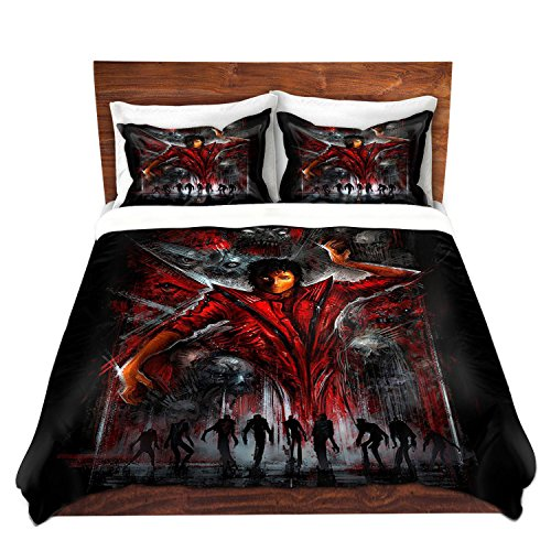DiaNoche Designs the Thriller Michael Jackson Cover, 2 Twin Duvet Only 68