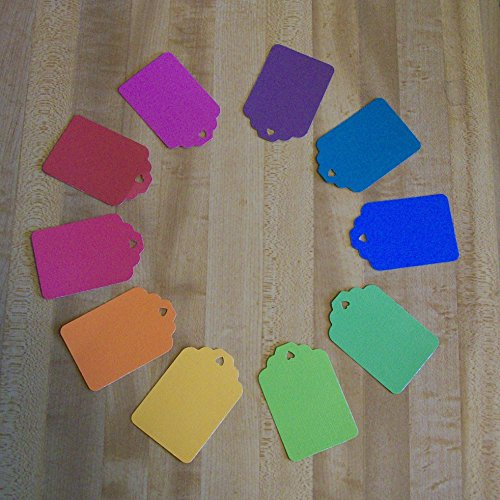 400 Blank Tags For Use As Gift Tags, Labeling, Scrapbooking, Party, Thank You or Price Tags