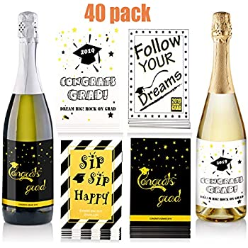 GRADUATION GLOSS STICKERS  UNIVERSITY COLLEGE  SCHOOL LEAVER PERSONALISED LABELS