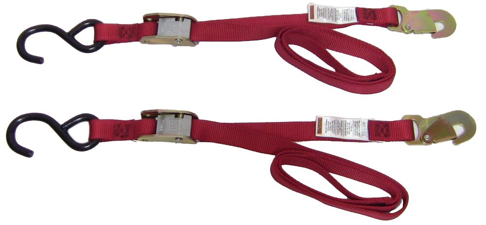 Ancra 45216-10 Red 66'' ''Red Snapper'' Tiedowns