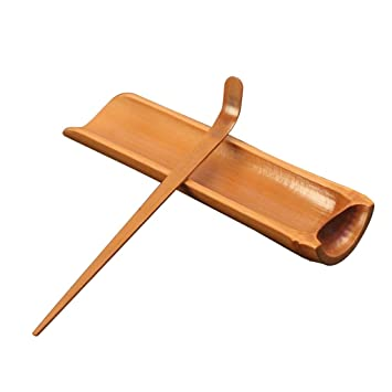 Bestonzon Bambus Essen Tong Teehaus Teetasse Clamp Clip Becherhalter