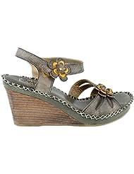 Spring Step Womens LArtiste, Lilac Sandal
