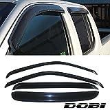 97 Suburban Best Deals - VioletLisa 4pcs Front Rear Smoke Sun/Rain Guard Vent Shade Window Visors For 99-00 Chevy/GMC C2500/K2500 92-00 C3500/K3500 Crew Cab 92-99 Suburban 95-99 Tahoe Yukon 99-00 Cadillac Escalade