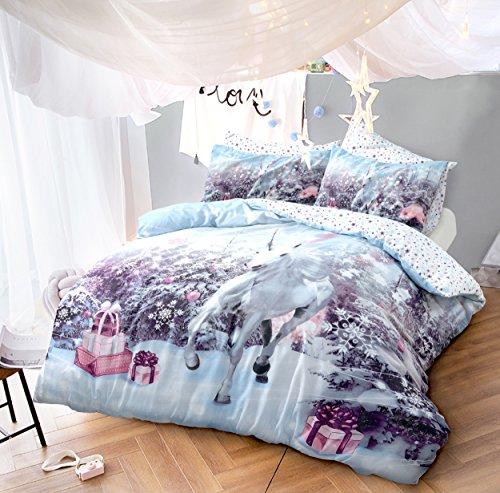 Rapport St Nicholas Christmas Santa Xmas Winter Duvet Cover Bedding Set Multi