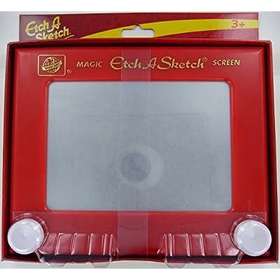 Ohio Art 505 Classic Etch A Sketch Magic Screen: Toys & Games