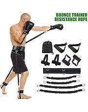 Krachttraining Sporten Fitness Banden van de Weerstand instellen voor de benen en arm oefeningen Boxing Muay Thai Home Gym Bouncing
