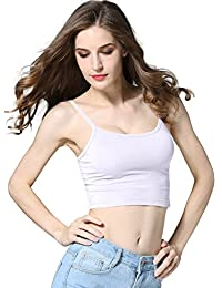 Crop Top Cami Camisole Summer Women Sexy Slim Sleeveless Spaghetti Strap Tank Top