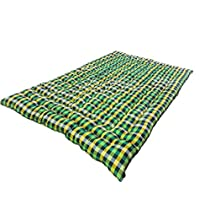 [LD] ATOOTFUSION Soft Cotton Filled Mattress (1 Sleeping Capacity, 3 x 6 ft or 72 x 36 Inch, Sigle Bed Foldable Light Weight Multicolour) Cotton Gadda Upholstery Cotton