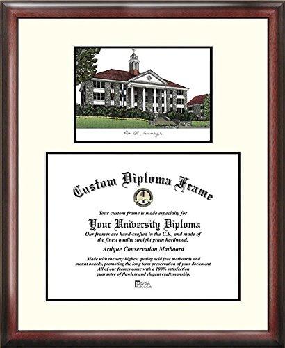 University of Virginia Cavaliers Mahogany Diploma Frame & Lithograph
