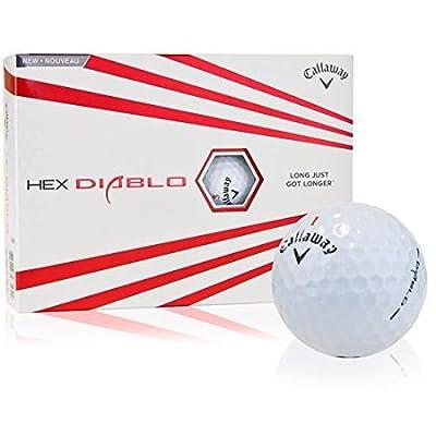 Callaway Golf HEX Diablo Golf Balls (1 Dozen) by Callaway