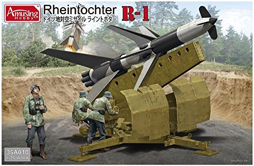 Rheintochter R-1 Model Kit, Amusing Hobby from Unknown