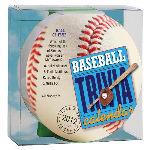 Baseball Trivia 2012 Calendar