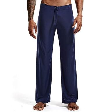 Hunt Power Pantalones Largos de Yoga para Hombres Pantalones ...