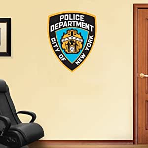 Amazon Com New York City Police Department Wall Decal