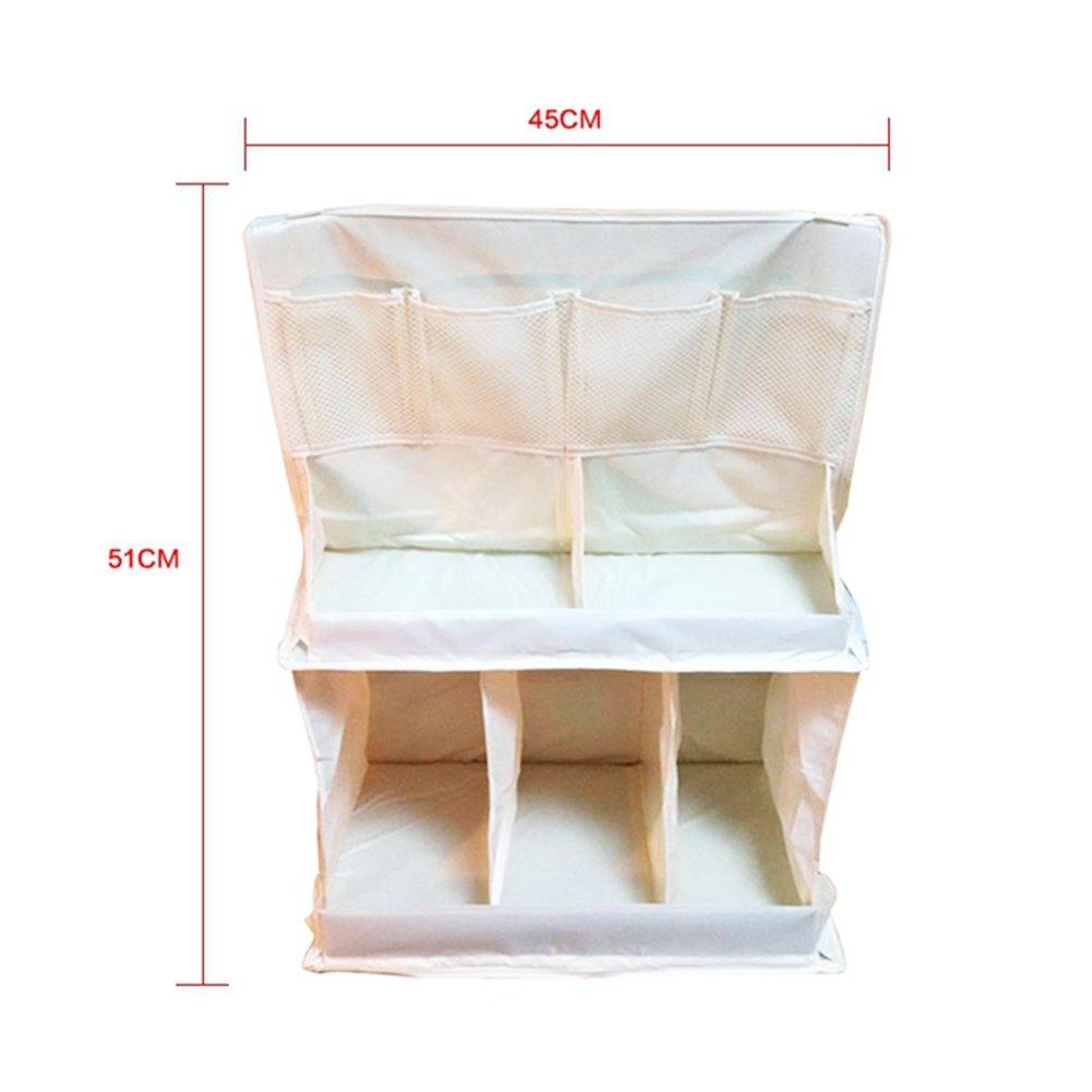 Organizador del cuarto de niños del pañal del bebé, organizador del cambio del panal, bolso colgante de la cama del bebé: Amazon.es: Bebé