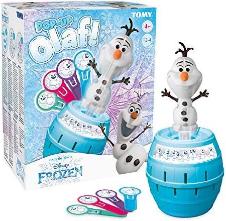 Tomy Frozen 72389- Tricky Salta Olaf, Juego de Mesa (: Amazon.es: Juguetes y juegos