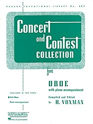 Concert & Contest Collection For Oboe: Solo Book Only