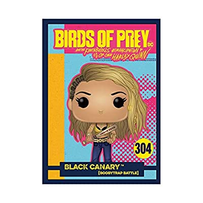 Funko Pop! Heroes: Birds of Prey - Black Canary Pop! Vinyl Figure with Collectible Card Exclusive by Entertainment Earth: Toys & Games