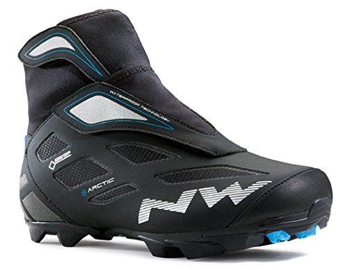 Northwave Celsius Arctic 2 GTX MTB Winter Fahrrad Schuhe schwarz/blau 2016: Größe: 48