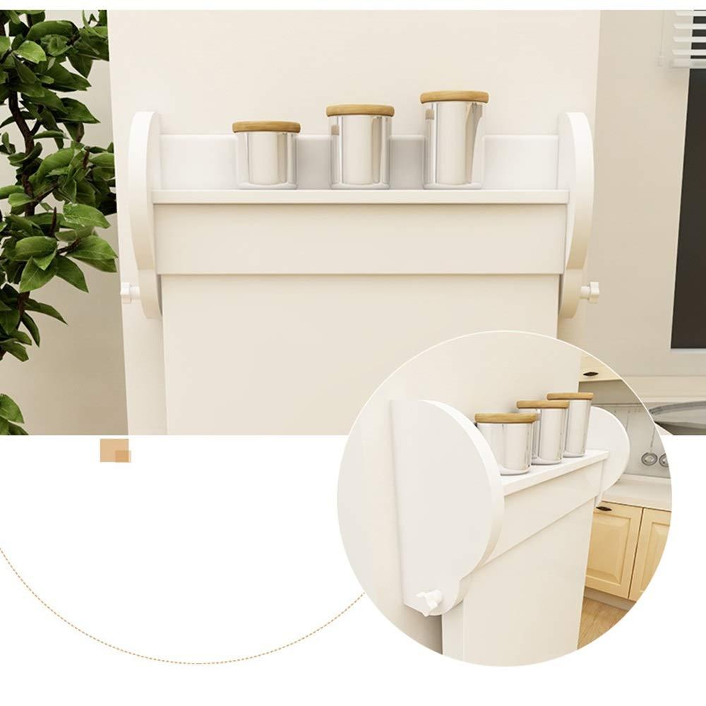Bordsbord ZR - slaktblad, multifunktionsvikning på matbord, vardagsrum fäst på väggen, 105 x 52 x 100 cm möbler (färg: vit) vit