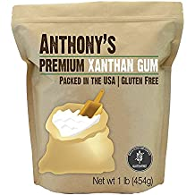Xanthan Gum 1lb (16 Ounce) Packed in the USA, by Anthony's, Gluten-Free