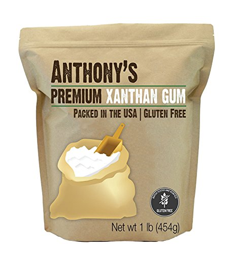 Anthony's Xanthan Gum, FCC Food Grade, Made in the USA