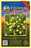 Everwilde Farms - 2000 Dahlberg Daisy Native Wildflower Seeds - Gold Vault Jumbo Seed Packet