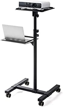 Mesa de escritorio móvil con ruedas multifunción, proyector, mesa ...