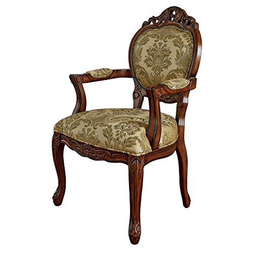 Design Toscano Chateau Theron Sitting Room Armchair, 23.5