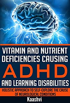 Vitamin Nutrient Deficiencies Learning Disabilities ebook product image