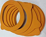 Le Parfait Rubber Gasket for some Terrine and Super Canning Jars, 85 mm (6)