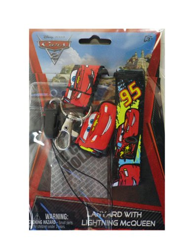 Disney Cars Lanyards (Disney McQueen Cars Lanyard with Soft Touch)