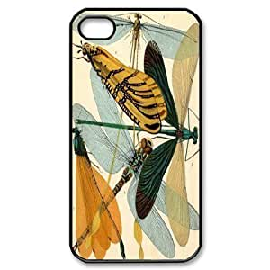Beautiful Dragonfly Personalized Cover Case for Iphone 4,4S,customized phone case ygtg-309824 by lolosakes
