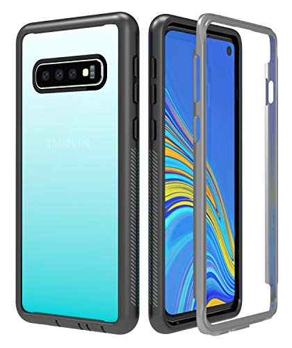 samsung galaxy s10 clear case with bumper