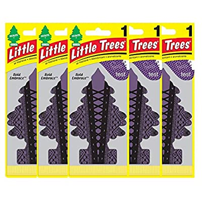LITTLE TREES Car Air Freshener | Hanging Paper Tree for Home or Car | Bold Embrace | Single pack: Automotive